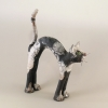 chat en céramique par Cherryl Taylor