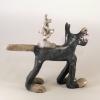 loup en céramique par Cherryl Taylor