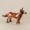 renard en céramique par Cherryl Taylor