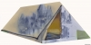 Fabien Boitard - château tente 2010 huile sur toile 113x230 cm