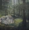 Fabien Boitard - sans titre 2009 huile sur toile 209x208 cm