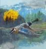 Fabien Boitard - sans titre canard 2008 huile sur toile 173x162 cm
